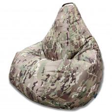 Кресло груша Oксфорд камуфляж 2