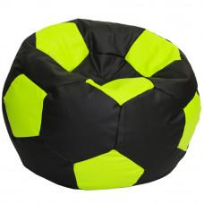 Кресло мяч зеленый с черным