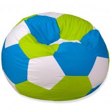 Кресло Мяч - Зеленый, белый, голубой