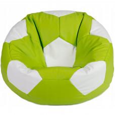 Кресло мяч зеленый с белым