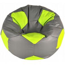 Кресло Мяч - Серый с зеленым
