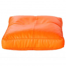 Оранжевая напольная подушка