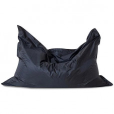 Кресло подушка XXL из оксфорда черного цвета